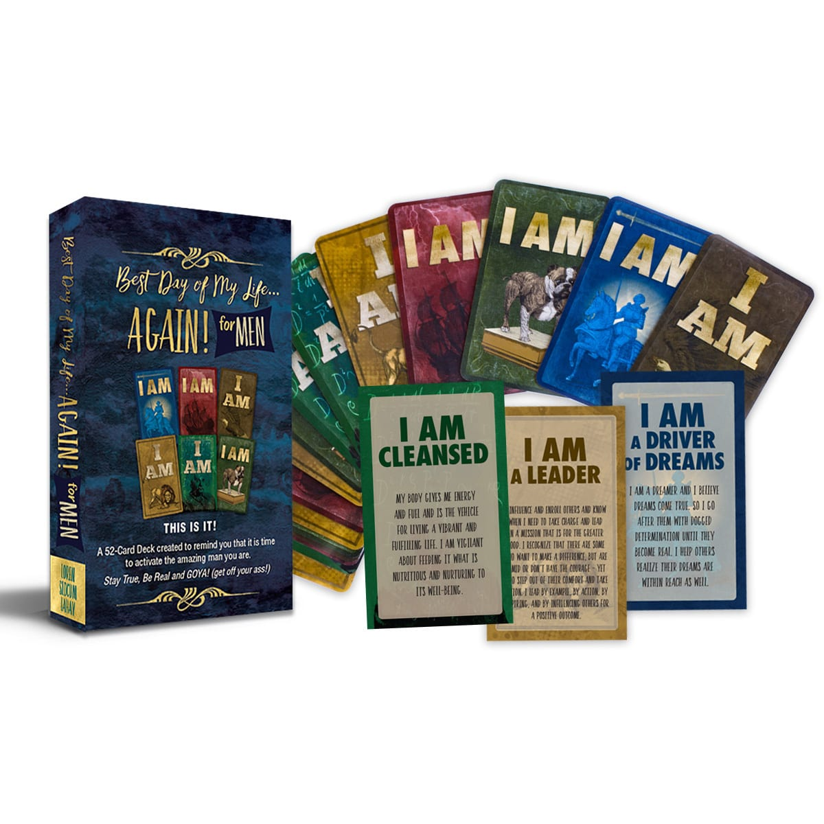 Men's I AM Affirmation Cards