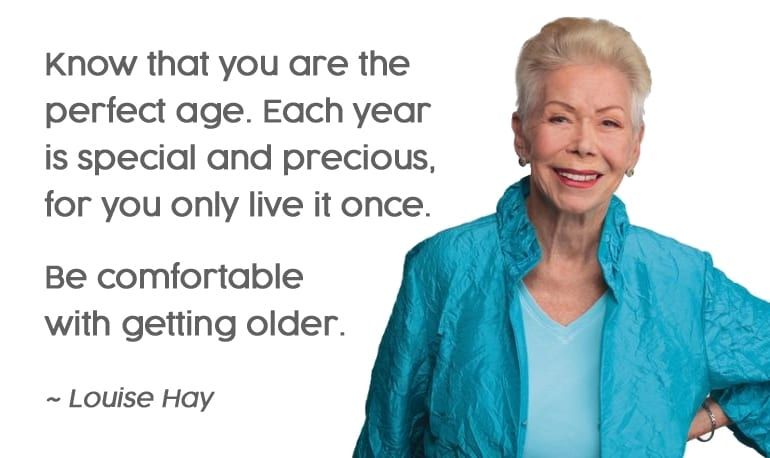 Are you growing old gracefully?